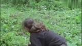 最近这个视频火了,美女走进森林,近距离接触并了解大猩猩的生活