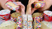 【kim&liz】生日蛋糕冰淇淋,蛋糕馅饼,五彩饼干,圣代冰淇淋(2019年9月10日22时31分)