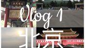 Vlog 1 我的北京之旅/三刷北京/飞机上看复联4/超级宽的面/颐和园/爸爸的母校/天安门夜景