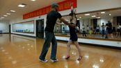 [黄龙体育舞蹈培训中心]初级班6月8日salsa示范