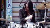 [雅妍]精选13-架子鼓女神-2分08秒处 开始扭起来-Bebop [A-yeon]-美女架子鼓