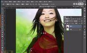 PS教程PS抠图PS扣头发丝PS学习视频PS网上教程photoshop