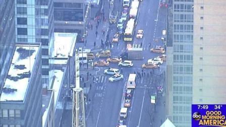 视频: 纽约曼哈顿中城区发生爆炸 数人受伤