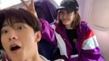 杨洋王丽坤偶遇微博晒合照,照片搞怪有趣,网友:仙女姐姐和皮皮动!
