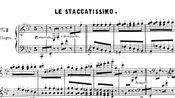 阿尔坎-48首草图素描 Op.63 第二首 Le Staccatissimo