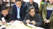 陈忠康在2016春季博士大讲堂讲解构建书法框架