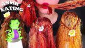 【yummy】可食用的娃娃毛,假发食物吃的声音恶作剧木桶不说话(2019年8月2日12时41分)