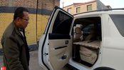 60岁大叔改床车,1.9米x1.3米超级大床,理论知识还相当丰富!
