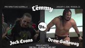 2016.01.02 PWG Lmmy - Drew Galloway vs. Jack Evans