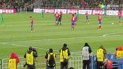 北京国安伊尔马兹进球,势头很猛,观众都坐不住了!