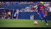 内马尔疯狂花式足球过人!