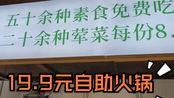 【长沙】19.9元自助小火锅,50多种菜不限时免费吃,荤菜8.8元一盘,划算吗?