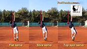 平击、上旋、侧旋发球抛球技术|中文字幕|现代网球教程i.youku.com/tennislesson
