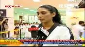 阿联酋公主对战雅典奥运会跆拳道冠军罗微