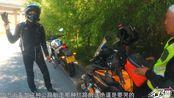 在青海偶遇一名陕西摩友,骑650街车背个小包出行,却说要去色达