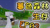 Minecraft 1.12.2暮色森林生存 EP03 锤爆娜迦!加入连锁挖矿模组,砍树,挖矿超方便的!!!