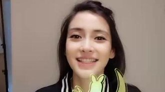 angelababy杨颖 素颜美上天