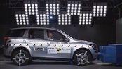 2014款马恒达XUV500 A-NCAP正面碰撞测试