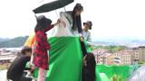 《蓬莱间》花絮:白宇、郑湫泓片场超欢快,揭秘跳崖戏的背后