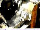 河北力达牌细石混凝土输送泵车油泵施工现场