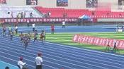 清华大学的4×100接力决赛,不愧是名牌大学体育生,这速度真是快