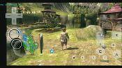 骁龙710测试wii《塞尔达传说 黄昏公主》在1倍和1.5倍分辨率下运行,帧数大部分能维持在25以上,不太流畅,能玩,操作较难
