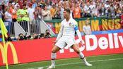C罗神兵天降鱼跃冲顶破门, 葡萄牙1: 0领先摩纳哥!