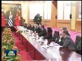 乌拉圭总统穆希卡与习近平会谈-特别播报