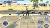 up主:IOSNBA2k 游戏:iosNBA2k19 街球模式 第一期 自创球员lly单挑Kobe Bryant 其中自创球员2.06m 司职小前/分卫