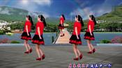王麟情歌广场舞《伤不起》人美歌甜,句句经典,新创32步附分解