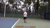 南昌乐享网球10.29老司机底线正手雨刷拉球热身