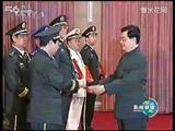 中央军委举行晋升上将军衔仪式胡主席参加并颁发证书