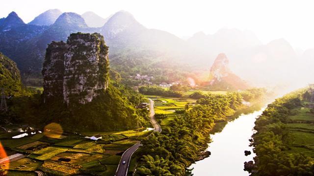 魅力中国走进长寿福地——广西河池