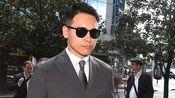 董璇在高云翔结束庭审后回国 口罩遮面显低调步履匆匆