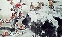 梅若国画教学 册页12幅之麻雀、鲤鱼补景