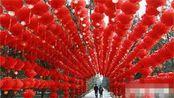 北京街头张灯结彩 年味浓厚!