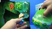 海底小纵队 《谢灵通的孔雀舰艇》 迪士尼玩具拆装