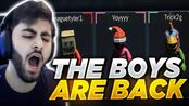 Yassuo THE BOYS ARE BACK IN TOWN (PUMMEL PARTY) Ft. Tyler1, Trick2G and Voyboy