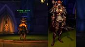 魔兽世界怀旧服:带你回到那个杀人电梯,看看曾经的希女王什么样