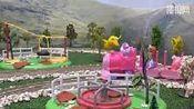 粉红小猪 小猪佩奇和索菲亚公主都是调皮脏孩子