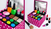 如何用彩泥DIY一个漂亮的化妆箱,很精致牛!