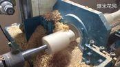 虎森数控木工车床效率超高的加工机器视频