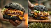 黑眼镜蛇汉堡《 野生森林厨房》-Almazan野生森林厨房-Heshig娱乐