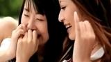 つぼみ&さとう遥希 lesbian kissing scene