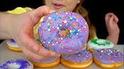 【pink】酸奶酸奶,甜甜圈,甜点,香草甜甜圈,黄绿色紫色派对,粉红礼服(2020年2月25日2时40分)