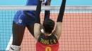 【奥运女排小组赛】中国VS意大利 常宁拼下次局