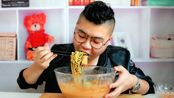 原来杨国福麻辣烫是这样做的,加入一袋牛奶,真的好吃啊