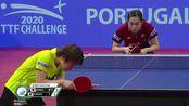 葡萄牙挑战赛女单决赛石川佳纯Kasumi Ishikawa vs Saki Shibata 2020 ITTF Portu