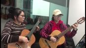 阳光总在风雨后 吉他合奏 张平平 泗洪 天音吉他