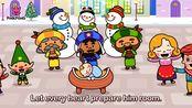 【英文儿歌】Jolly Old St. Nicholas サンタクロースへ クリスマスソング ピンクフォン英語童謡